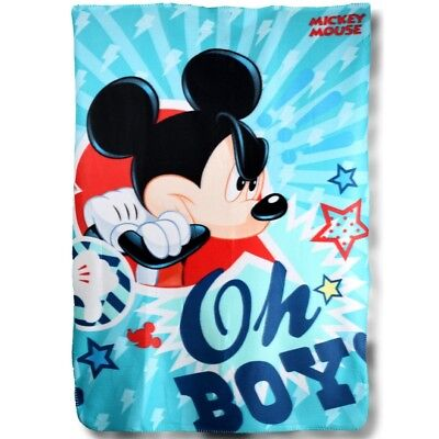 plaid polaire 100 x 150 Mickey, couverture enfant Mickey