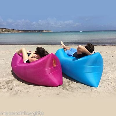 Fast Inflatable Air Bed Bali beach lounge Sleeping Camping Bed Sofa