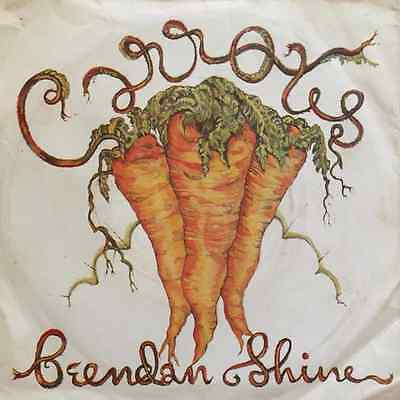 "BRENDAN SHINE - Carrotts (Red Vinyl) (7"" Single) (EX/G-)"