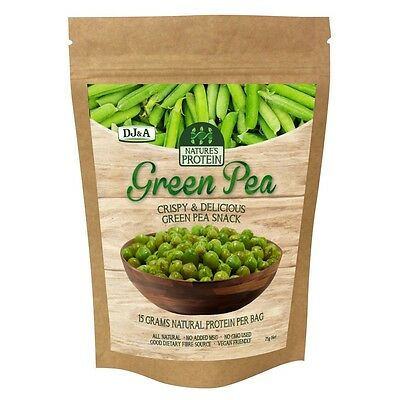 DJ&A Green Pea Protein Vegan Natural Healthy No MSG Snack