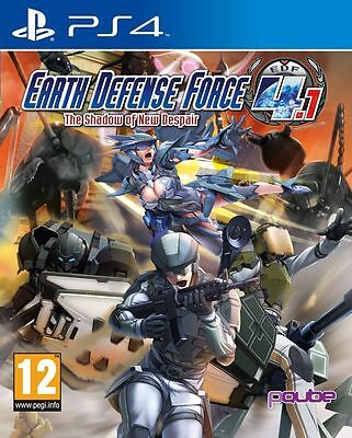 Earth Defense Force 4.1 - The Shadow of New Despair For PS4 (New & Sealed)