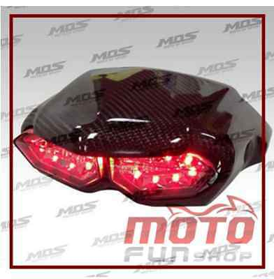 Carbon Fiber imitation YZF-R6 Tail Light For Yamaha ZUMA 125 2015 / BWS X 125