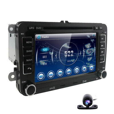 for VW Volkswagen Jetta Passat Polo EOS Car GPS Stereo DVD Navigation 2DIN Radio