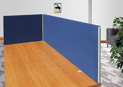 Desk Divider Screen Partition Panel fabric TDT 45/120 - Free Delivery - NEW