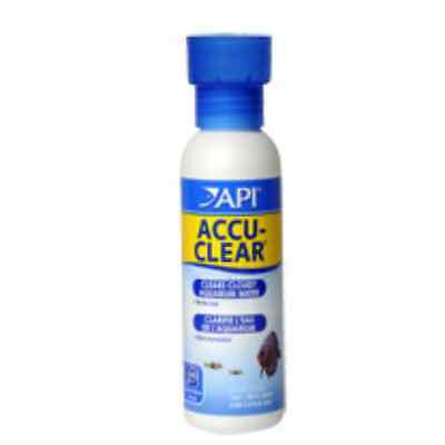 API Accu Clear 118ml Aquarium Cloudy Water clarifier Clear