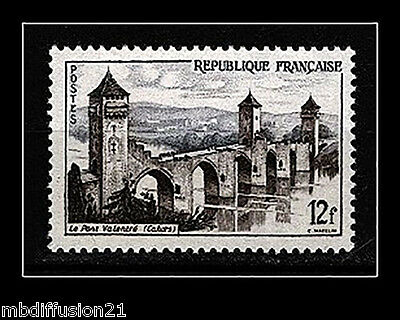 1955//TIMBRE FRANCE NEUF**LE PONT VALENTRE(12Fr)-CAHORS**STAMP.Y/T N°1039