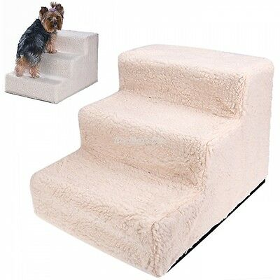 New Portable 3 Steps Stairs Dog Steps Pet Ramp Stairs Pet Ladder