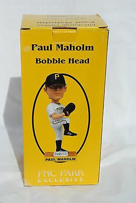Paul Maholm, Pittsburgh Pirates, 2009 Limited Edition SGA Bobble Head
