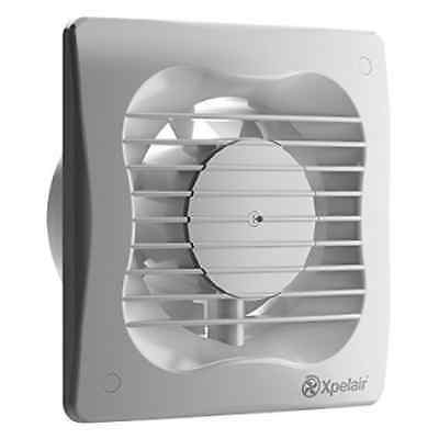 Xpelair 93225AW 4-Inch Bathroom Ventilation Wall/Ceiling Extractor Fan with Run-