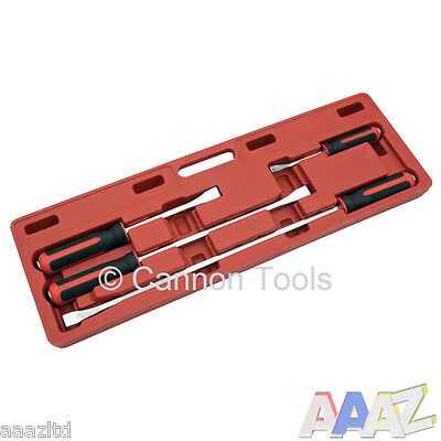 professional 4pc heavy duty pry bar set with Storage Case, Heavy Duty Pry Bars