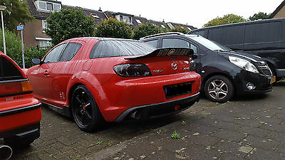 Mazda Rx-8 Ducktail Look Rear Boot Spoiler / Drift / Race / Jdm New !
