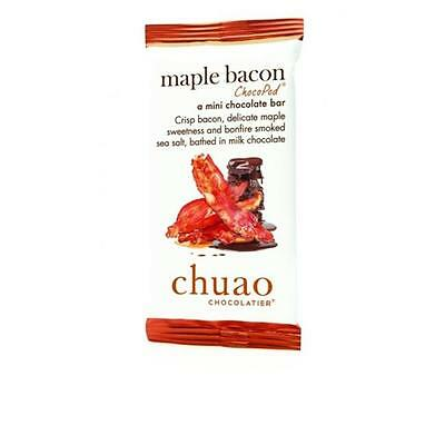 Chuao Chocolatier 900345 Maple Bacon ChocoPod Mini Bar 24 Mini Bars