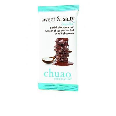 Chuao Chocolatier 900346 Sweet and Salty ChocoPod Mini Bar 24 Mini Bars