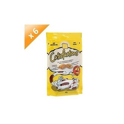 CATISFACTION Fromage 60g (x6) FRIANDISE
