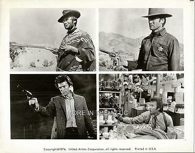 Clint Eastwood From Cowboy To Cop Original Vintage Dirty Harry Still