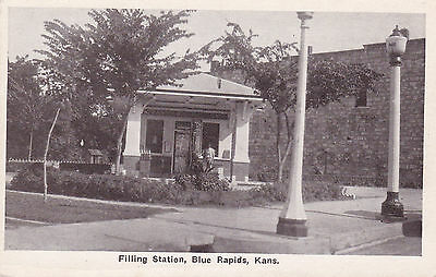 Filling / Gas Station , BLUE RAPIDS , Kansas , 1910s