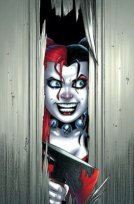 HARLEY QUINN SUICIDE SQUAD IMAGE Poster Gloss Print Laminated