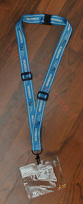 Brand New Blue Style Disney Vacation Club DVC Member - DCL Cruise Line - Lanyard