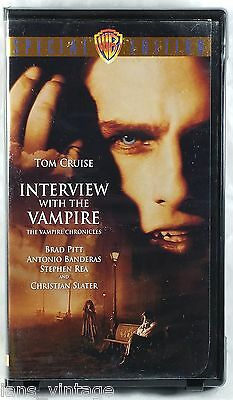 Interview with the Vampire (VHS, 2000, Special Edition) Horror, Clamshell Case
