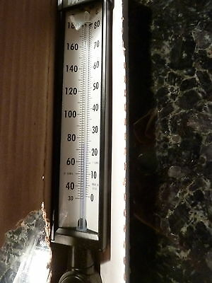 Weiss Instruments Thermometer  30 to 180F - A9VU35