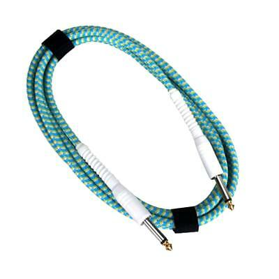 10ft 3M Braided Patch Electric Guitar Cable Cord Lead