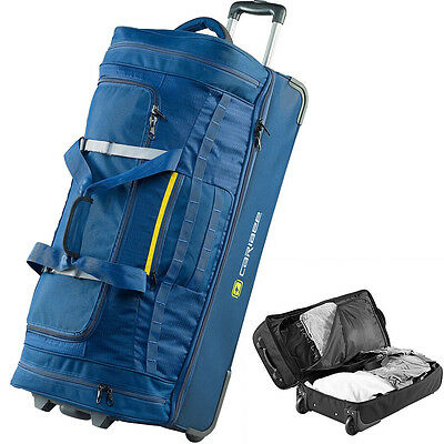 CARIBEE SCARECROW 100L Travel Trolley Bag Luggage Wheeled Wheely