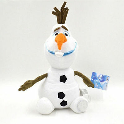 "New GIFT 9"" Olaf Snowman Doll Xmas gift Plush Soft Stuffed Kids Baby Toy"
