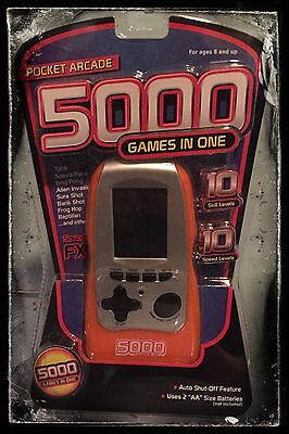 Pocket Arcade Handheld 5000 Games In 1 Toys Kids Christmas