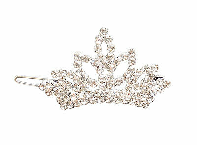 Fashion Crown Crystal Women Gilrs' Pet Cat Dog Hair Clips Grooming Accessories
