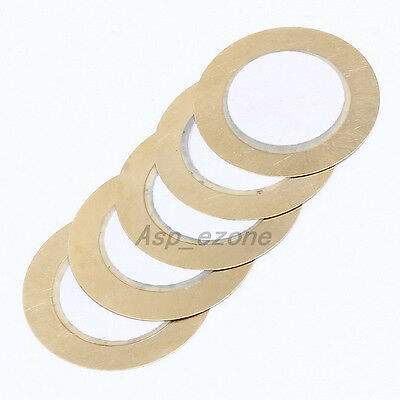 10pcs Piezo Buzzer Copper SMD For Buzzers Speakers Thickness 0.33mm D27mm