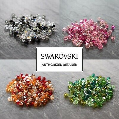 SWAROVSKI CRYSTAL XILION BICONE/BEAD MIXES *3mm-6mm *5328 *MANY COLOURS *GENUINE