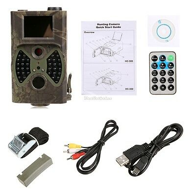HC-300A HD GPRS MMS GSM Wildlife Hunting Scouting Infrared Trail Trap Camera D0X