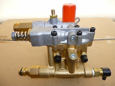New High Pressure Washer Water Pump 3500 Psi Max Triple Piston  Axial Pump