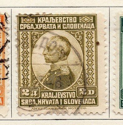 Yugoslavia 1921 Early Issue Fine Used 2d. 086604