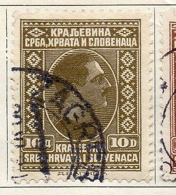Yugoslavia 1926 Early Issue Fine Used 10d. 086666