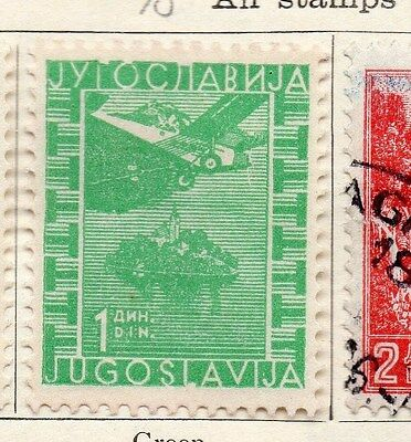 Yugoslavia 1934 Early Issue Fine Mint Hinged 1d. 086681