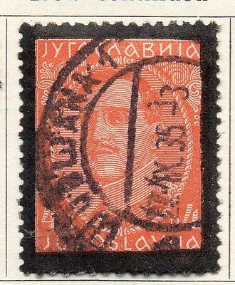Yugoslavia 1934 Early Issue Fine Used 4d. 086693