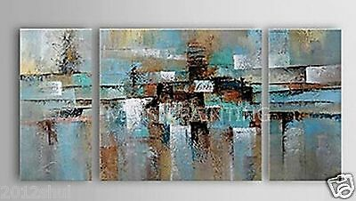 3pc Modern abstract art oil painting decor wall on canvas (No Framed)