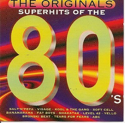 Superhits of the 80's Soft Cell, Visage, Michael Sembello, Animotion, Y.. [2 CD]
