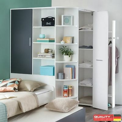 wimex eckkleiderschrank joker begehbar kleiderschrank w scheschrank schrank eur 644 95. Black Bedroom Furniture Sets. Home Design Ideas