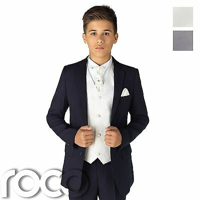 Boys Suits, Boys Navy Suits, Page Boy Suits, Boys Wedding Suits, 12-18m - 13yrs