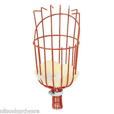 Fruit Picker Basket Fresh Orange Apple Plum Pear Peach for Broom Pole Stick M3