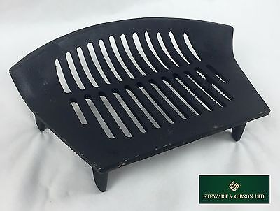 HEAVY DUTY Single Fire Grate Bottom Base Bow Fronted Cast Iron For 16'' Opening