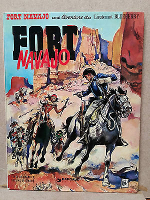Giraud / Charlier : Lieutenant Blueberry T1 - Fort Navajo - RE 1975
