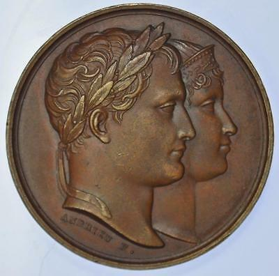 Napoleonic France - 1811 Birth of the King of Rome medal by Andrieu