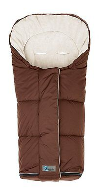 Altabebe 6 Belts Slots Winter Footmuff Clima Guard Line (Brown)