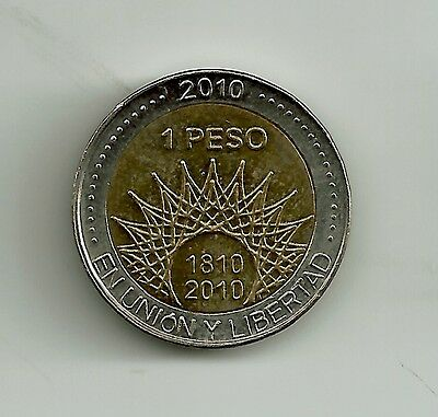 World Coins - Argentina 1 Peso 2010 Commemorative Coin KM# 158