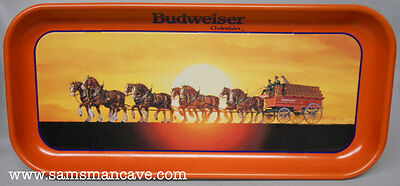 Budweiser Clydesdales Sunset Tray