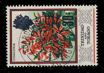"Trinidad & Tobago - 1982 - Sg 349 Cancelled ""scarborough / Tobago"" Postmark"
