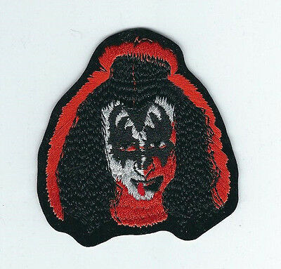 Kiss Gene Simmons With Make Up Solo Album Embroidered Patch !